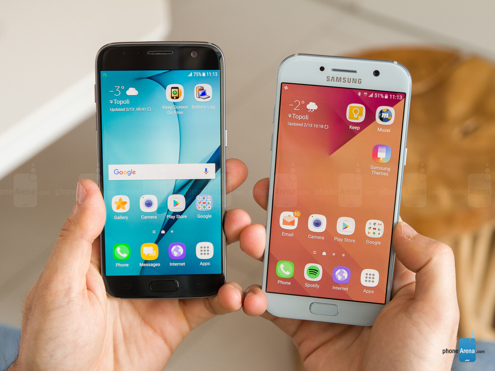 samsung a5 vs s5 review