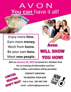 avon work from home reviews