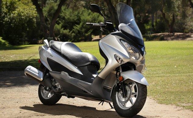 suzuki burgman 250 scooter review
