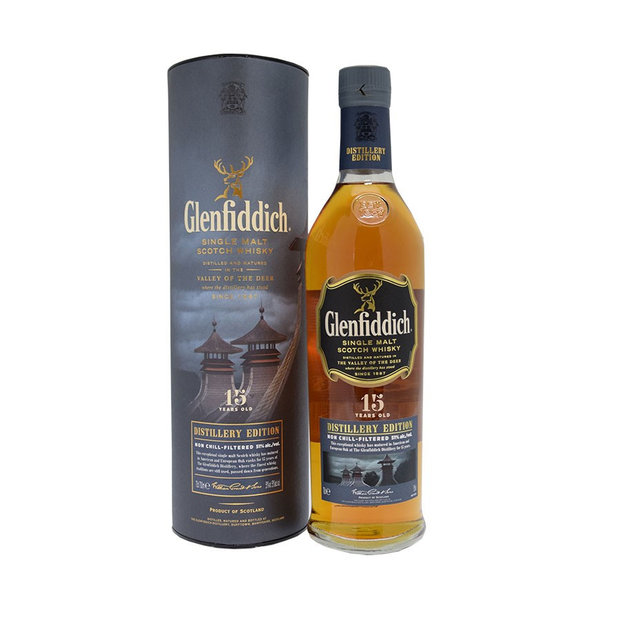 glenfiddich 15 year old distillery edition review