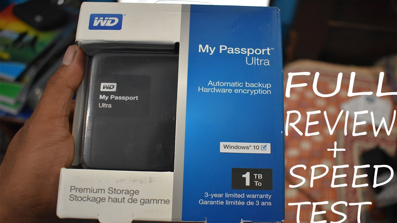 wd my passport 1tb review