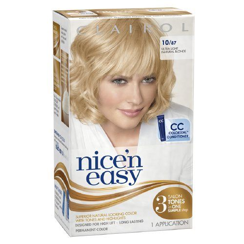 clairol nice and easy natural medium ash blonde review
