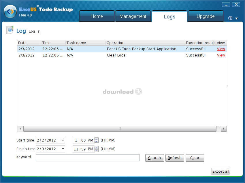 easeus todo backup free 3.5 review
