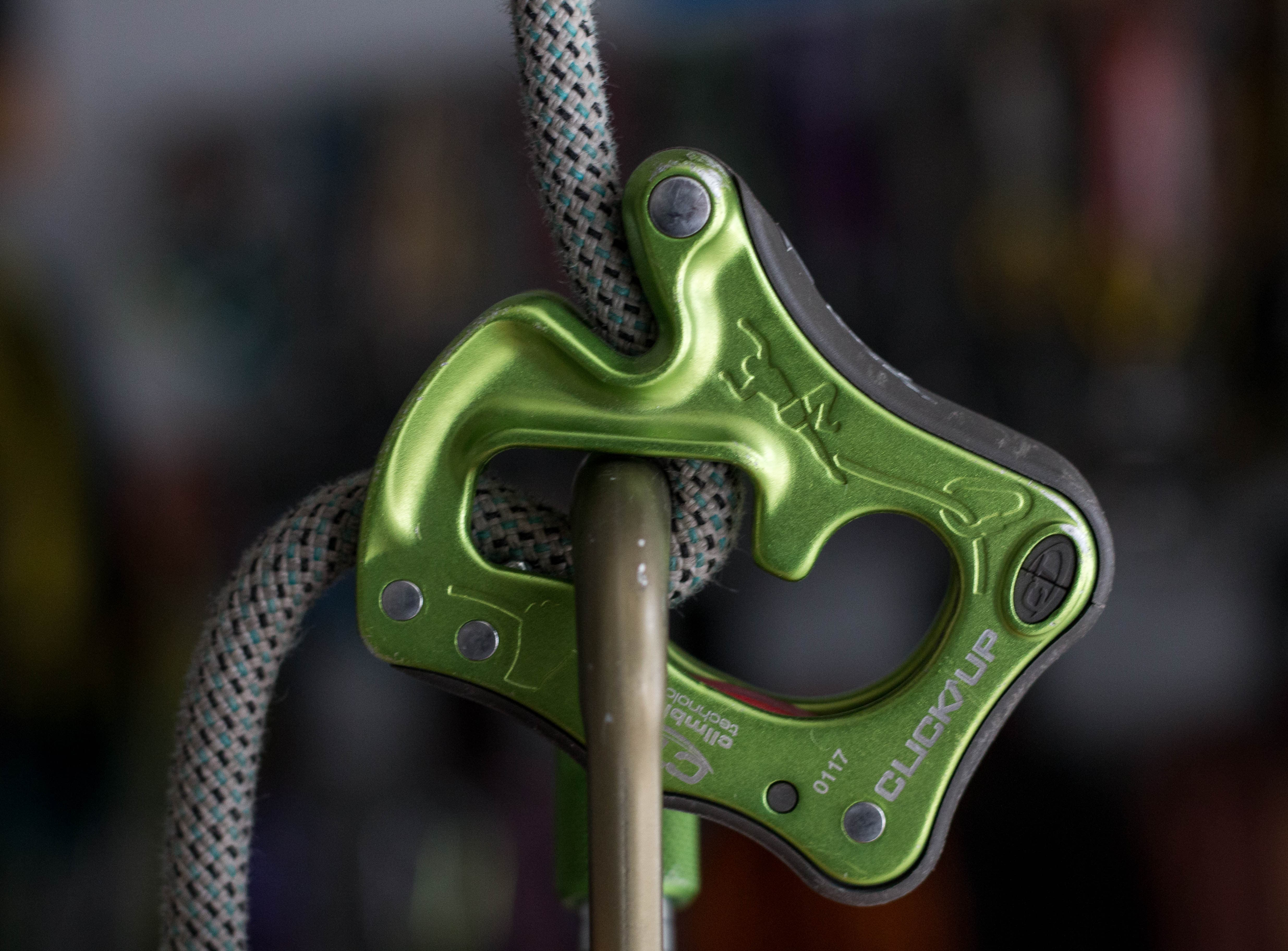 click up belay device review