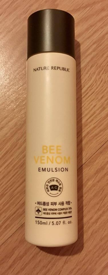 bee venom emulsion nature republic review