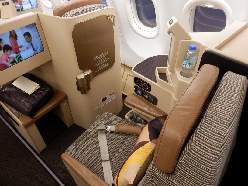 etihad a330 300 business class review