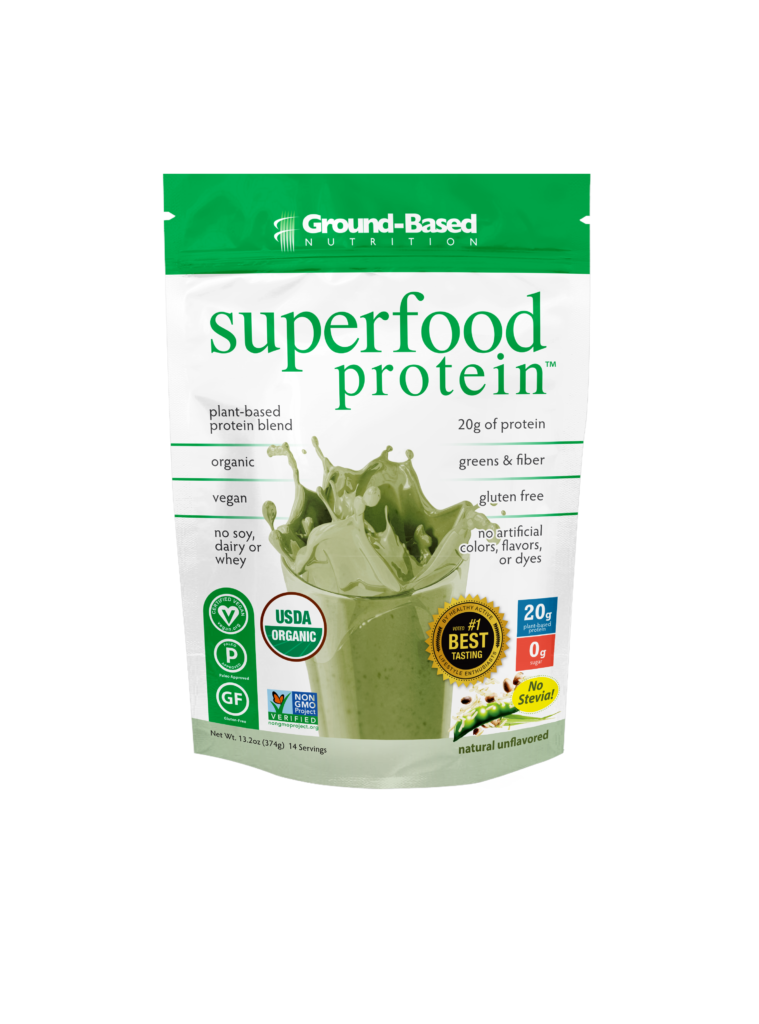 ground based nutrition superfood protein reviews