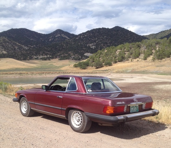 1985 mercedes benz 380sl reviews
