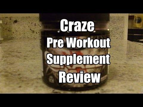 craze v2 pre workout review
