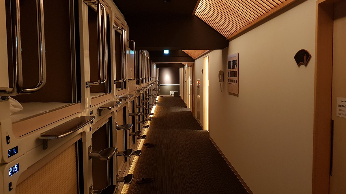 capsule hotel asahi plaza shinsaibashi review