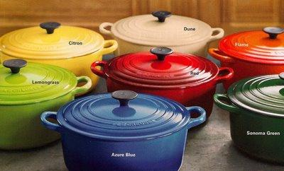 le creuset pots and pans review