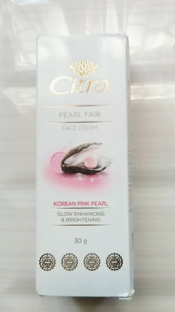 citra pearl fairness cream review
