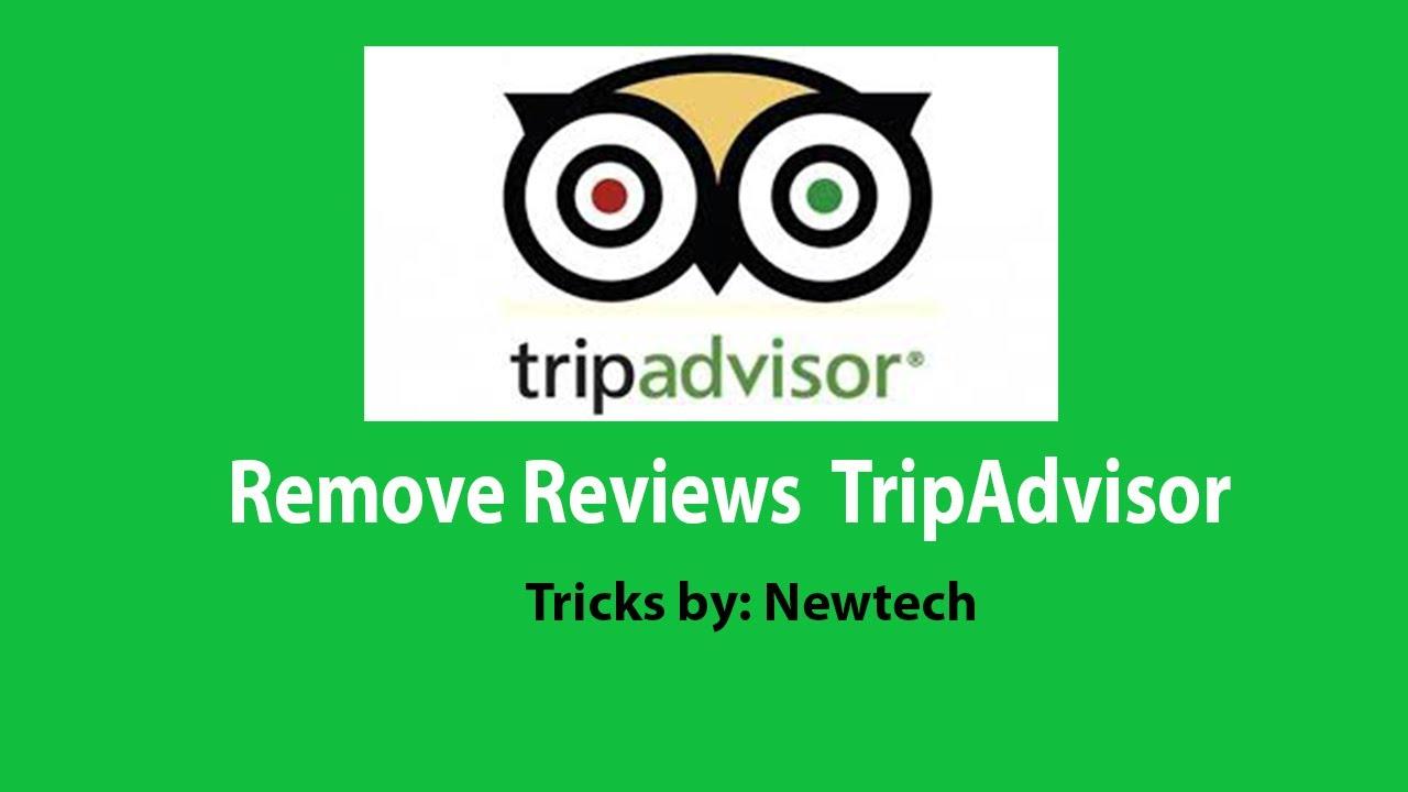 how do i delete a review on tripadvisor