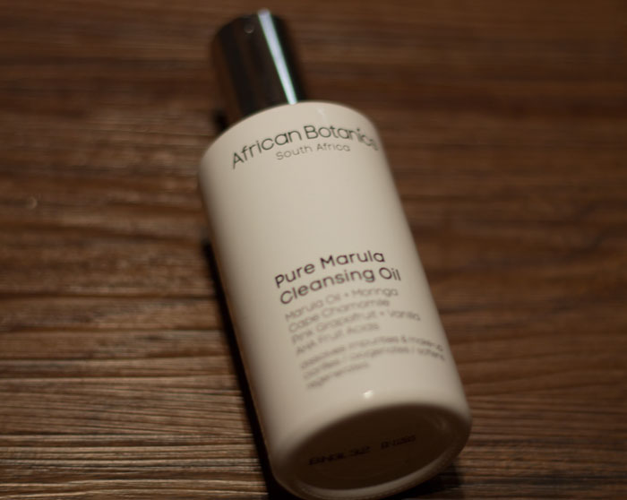 african botanics cleansing oil review