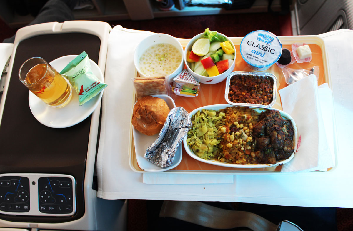 air india dreamliner business class review