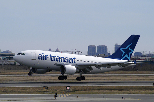 air transat reviews london toronto