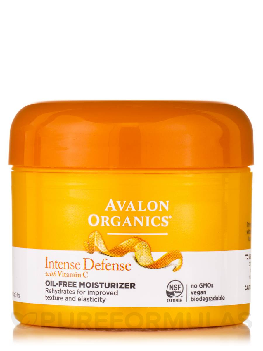 avalon organics intense defense oil free moisturizer review