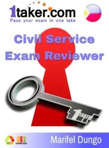 civil service exam reviewer 2017 pdf