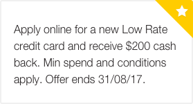commbank low rate credit card review