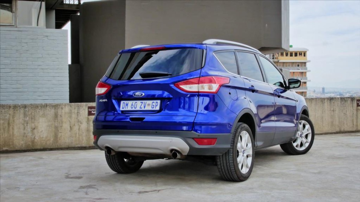 ford kuga trend review 2016