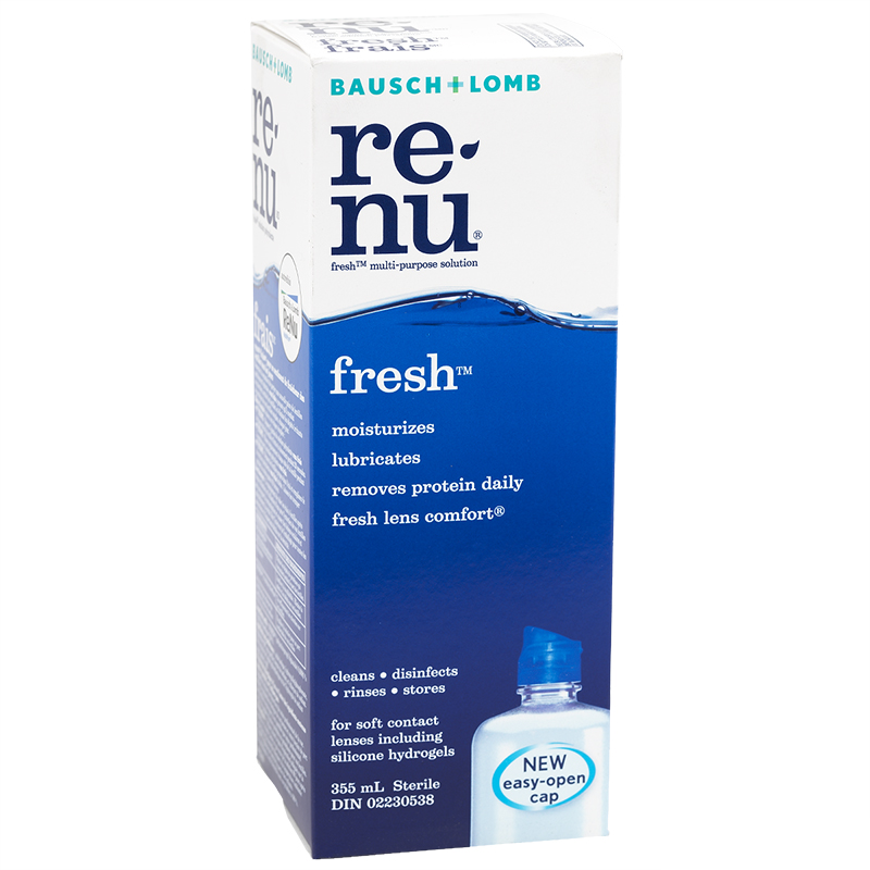bausch and lomb renu fresh review