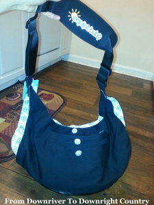 country road nappy bag review