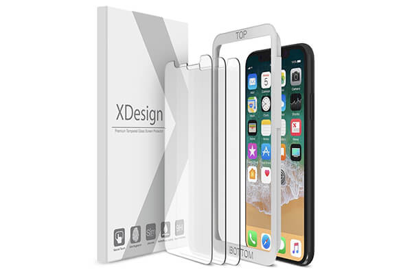 best iphone x screen protector review