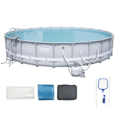 bestway power steel frame pool reviews