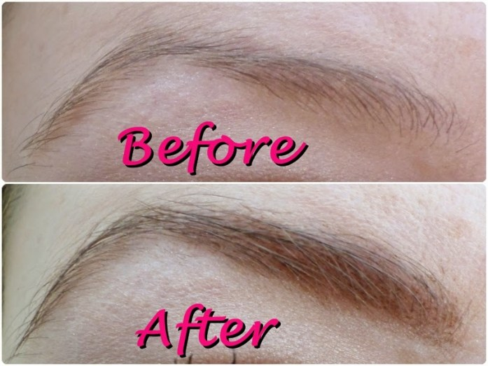 billion dollar brows hint of tint review