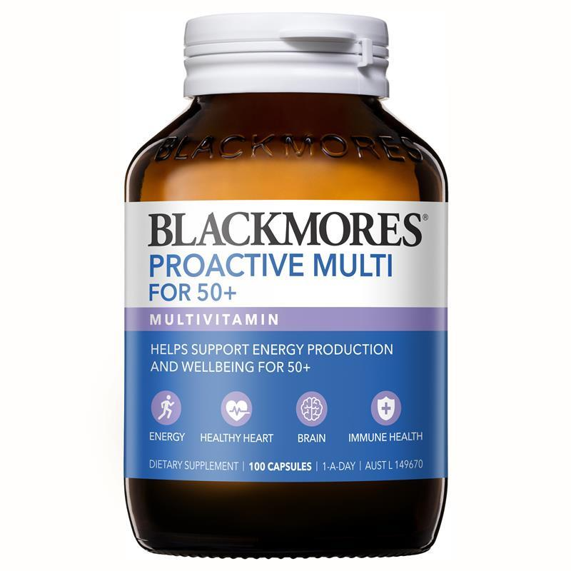 blackmores proactive multi for 50 review
