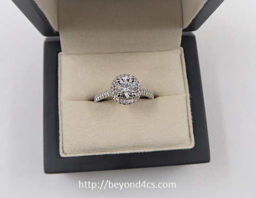 blue nile engagement ring reviews