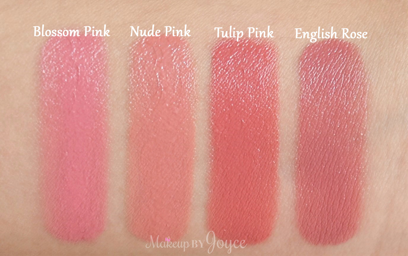 burberry english rose lipstick review