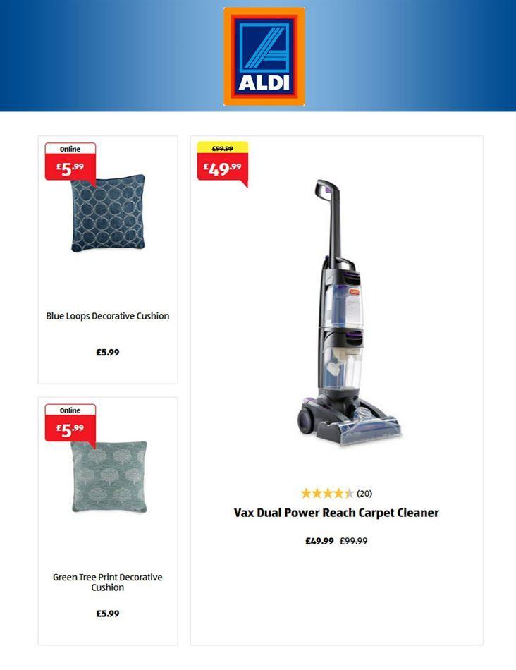 aldi stick vacuum cleaner review