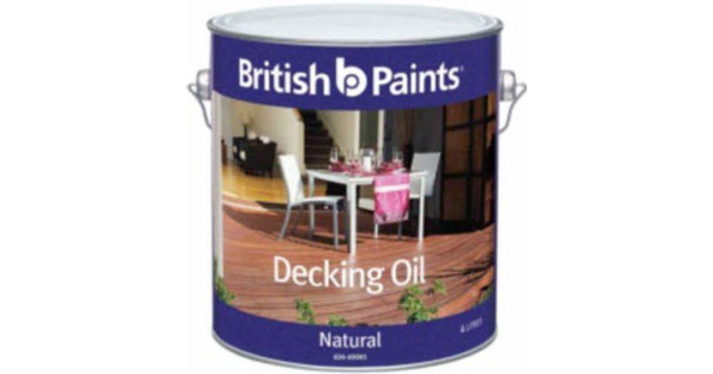 british paints decking oil review