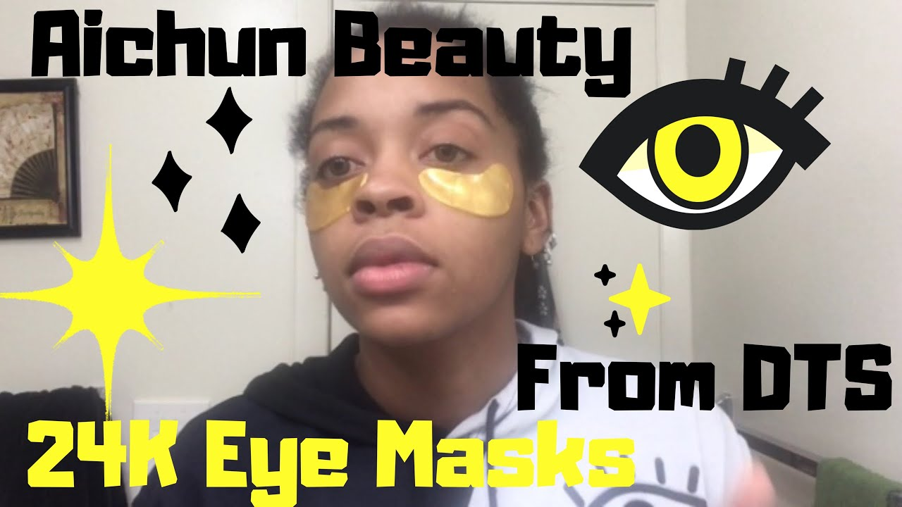 24k gold eye masks review