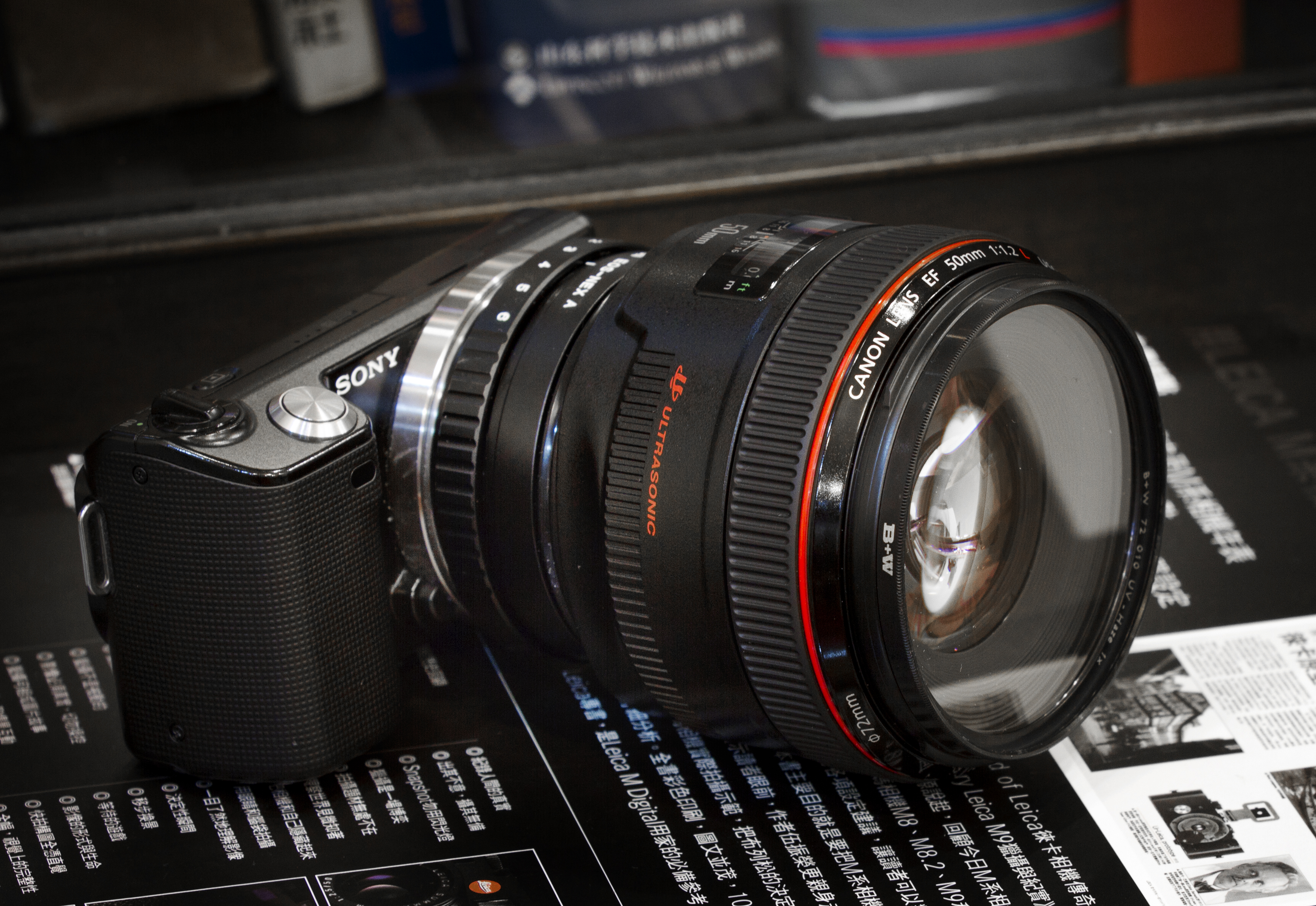 canon 50mm f1 0 review