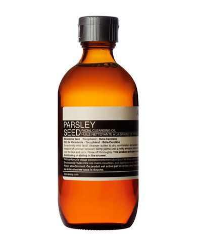 aesop parsley seed cleansing oil review