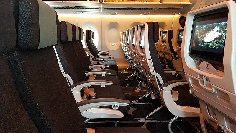 china airlines a350 economy review