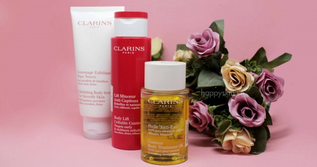 clarins body contour oil review