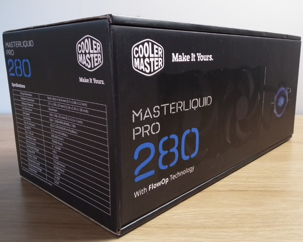 cooler master liquid pro 280 review
