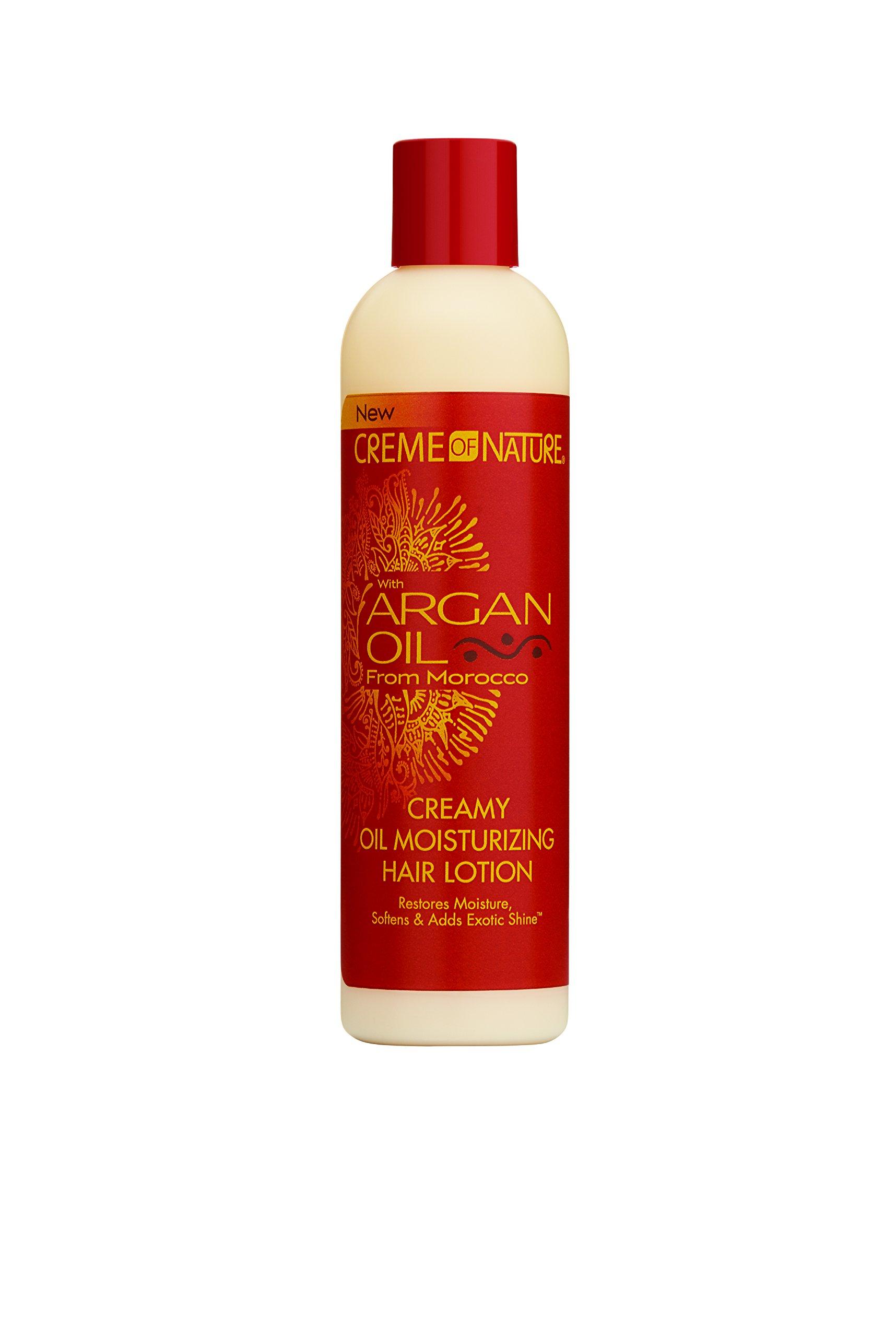 creme of nature argan oil shampoo review