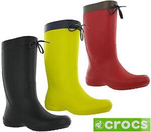 crocs freesail rain boot reviews