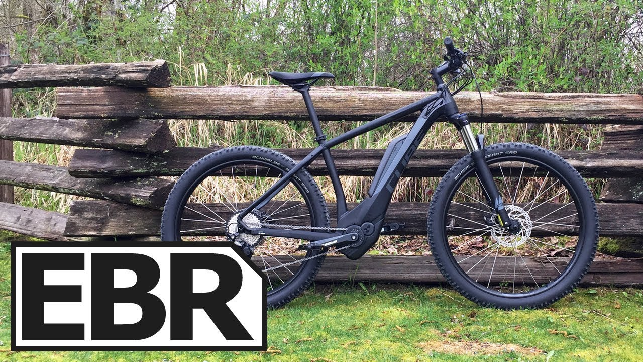 cube electric mountain bike review