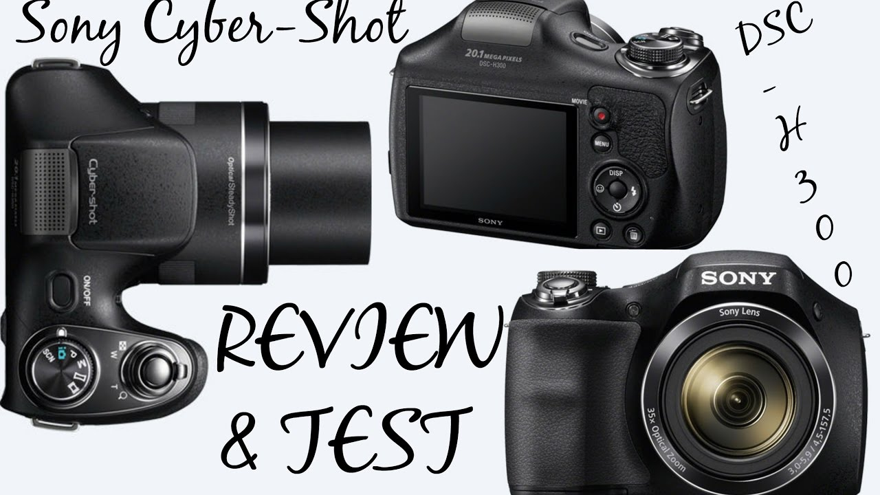 cyber shot dsc h300 review
