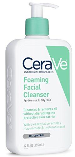 cerave foaming facial cleanser reviews acne