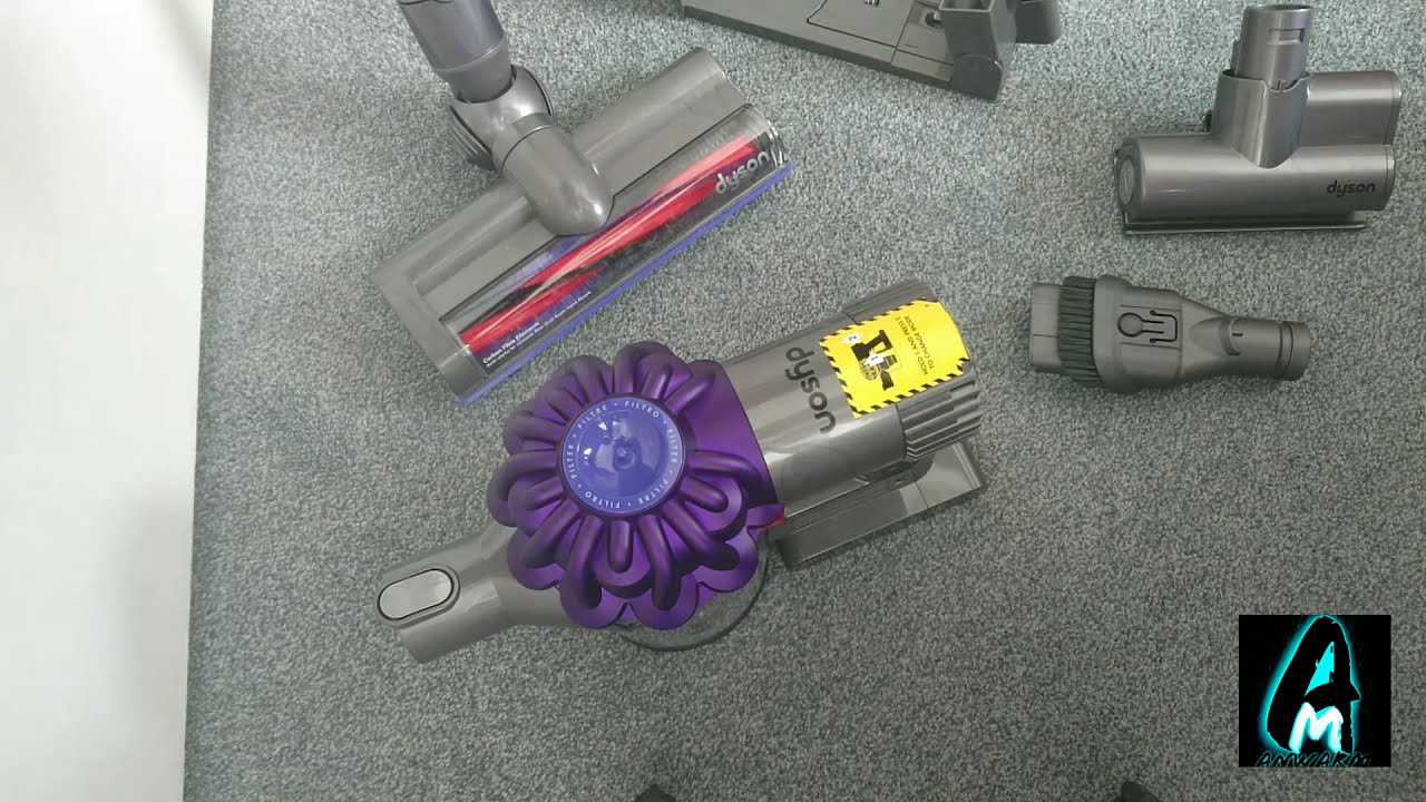 dyson v6 animal cordless vacuum cleaner review