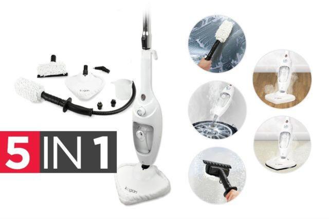 kogan 5 in 1 steam mop review