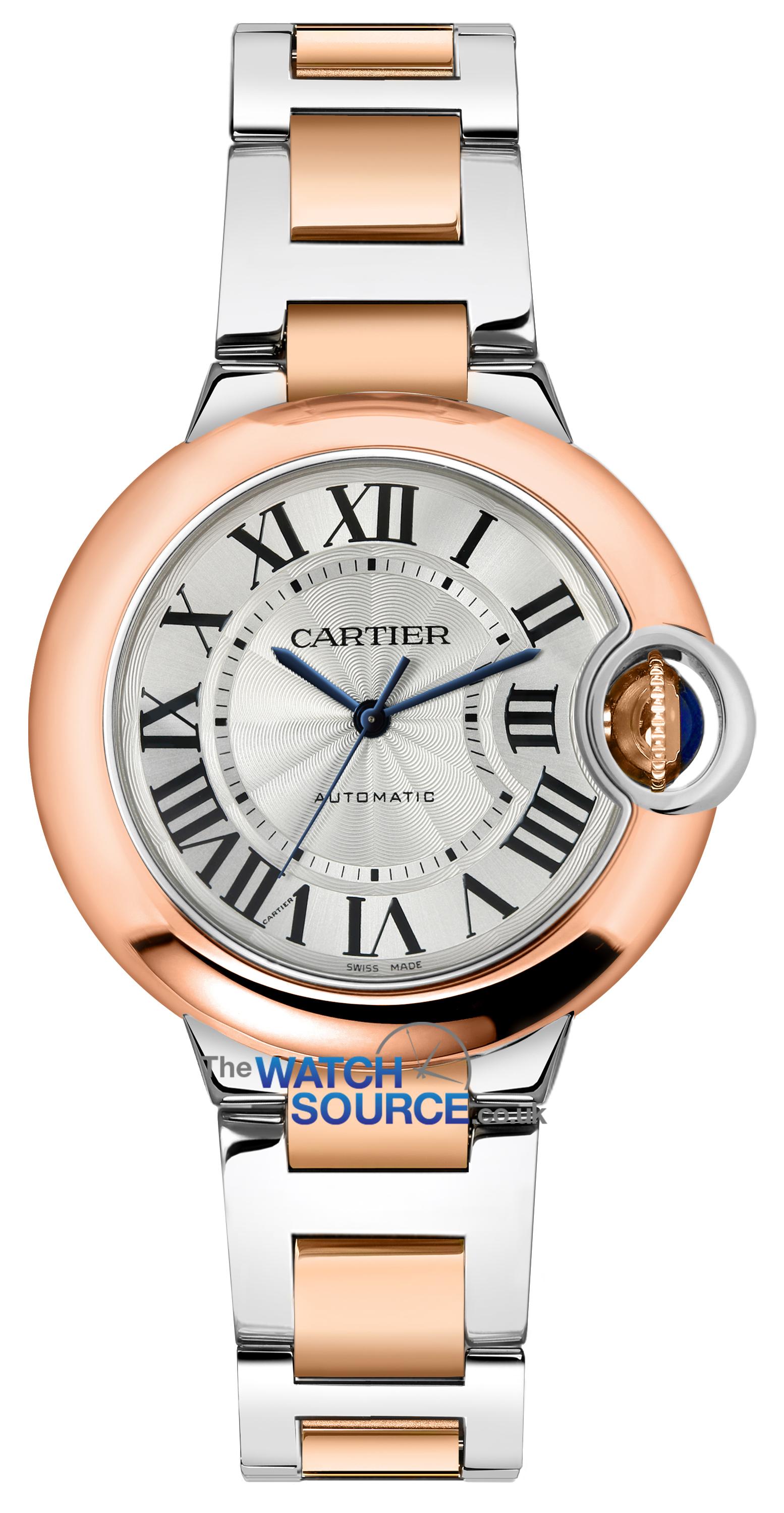 cartier ballon bleu 33mm review