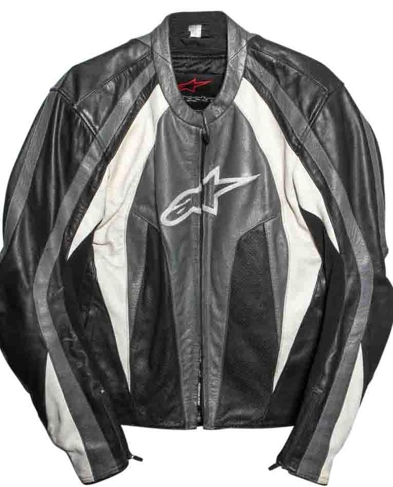 alpinestars stunt leather jacket review