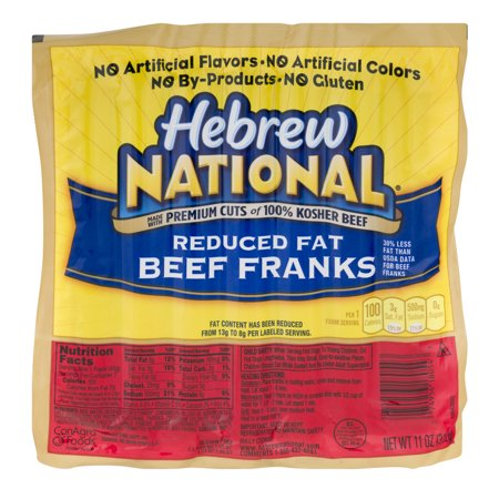 hebrew national 97 fat free beef franks reviews